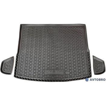Коврик в багажник для Hyundai Creta '19- (Инд. сборка), полиуретановый (AVTO-Gumm)