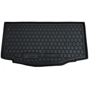 Коврик в багажник для Hyundai i-10 2014-, полиуретановый (AVTO-Gumm)