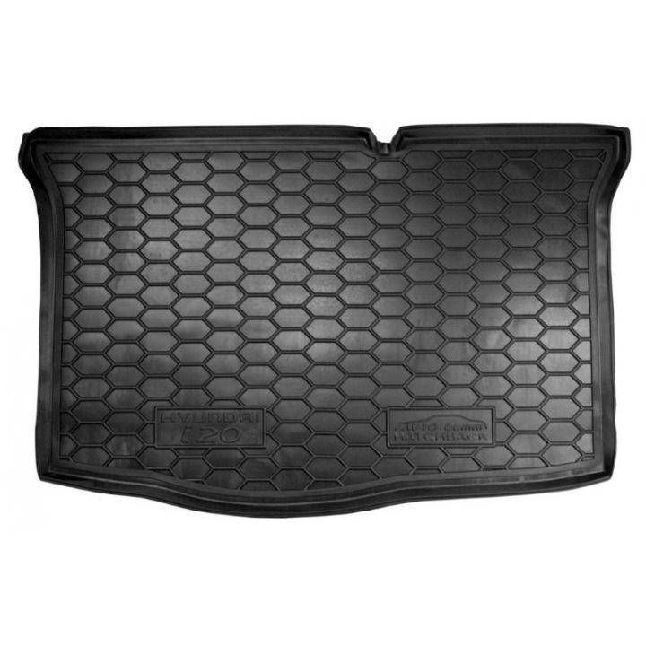 Коврик в багажник для Hyundai i-20 2016-, полиуретановый (AVTO-Gumm)