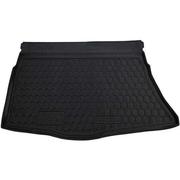 Коврик в багажник для Hyundai i-30 2012- хетчбэк, полиуретановый (AVTO-Gumm)