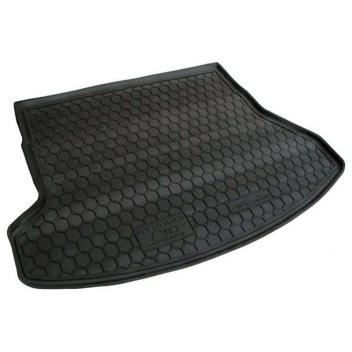 Коврик в багажник для Hyundai i-30 2012- универсал, полиуретановый (AVTO-Gumm)