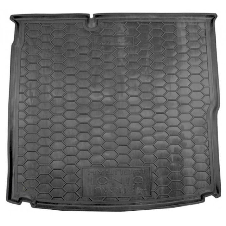 Коврик в багажник для Hyundai Ioniq '16-, TOP, полиуретановый (AVTO-Gumm)