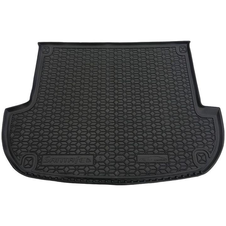 Коврик в багажник для Hyundai Santa Fe '10-, 5 мест, полиуретановый (AVTO-Gumm)