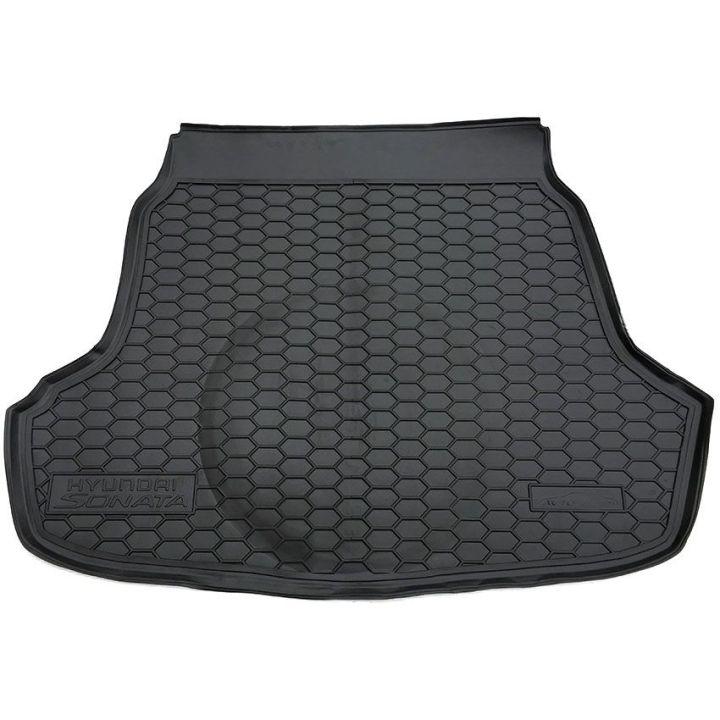 Коврик в багажник для Hyundai Sonata 2016-, полиуретановый (AVTO-Gumm)