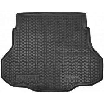 Коврик в багажник для Hyundai Elantra CN7 '21-, полиуретановый (AVTO-Gumm)