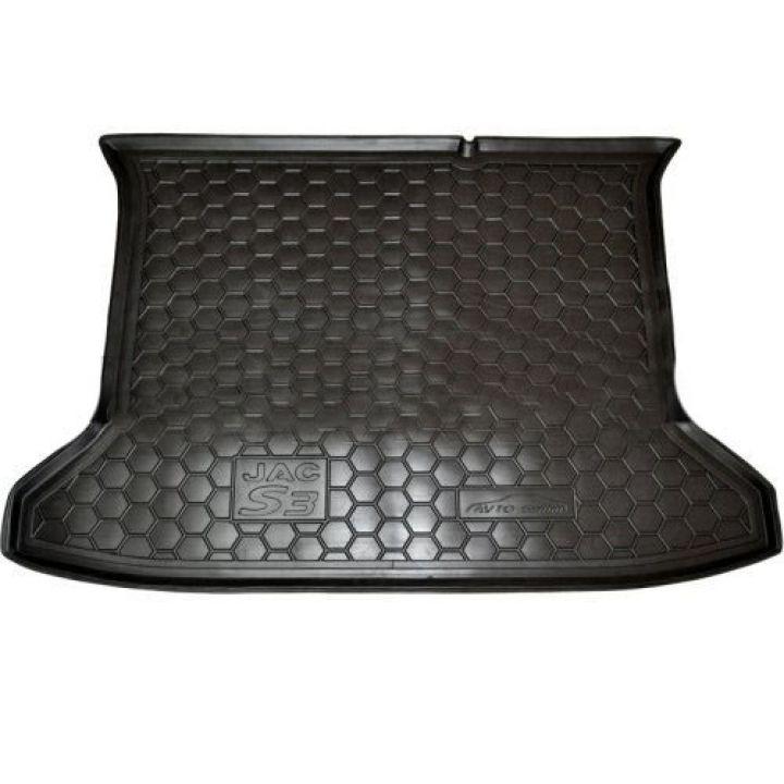 Коврик в багажник для JAC S3 '14-, полиуретановый (AVTO-Gumm)