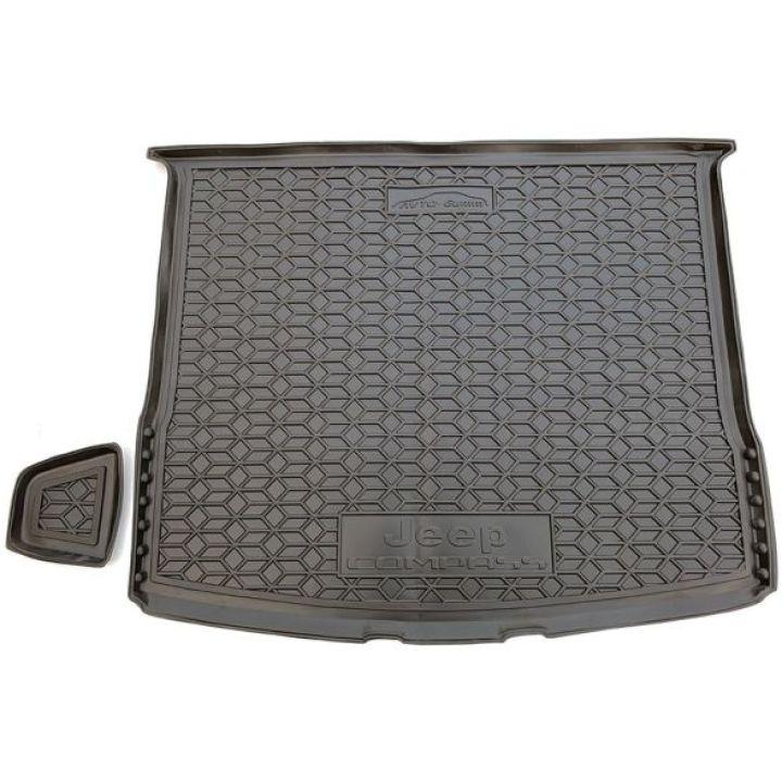 Коврик в багажник для Jeep Compass 2017-, полиуретановый (AVTO-Gumm)