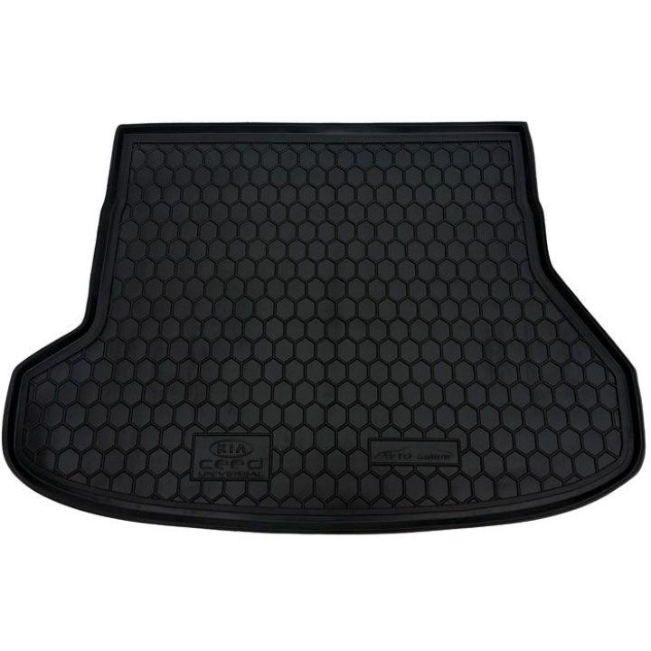Коврик в багажник для Kia Cee'd 2012- универсал, полиуретановый (AVTO-Gumm)