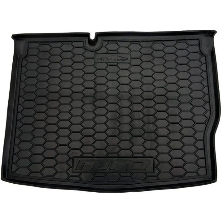Коврик в багажник для Kia Niro 2016-, полиуретановый (AVTO-Gumm)