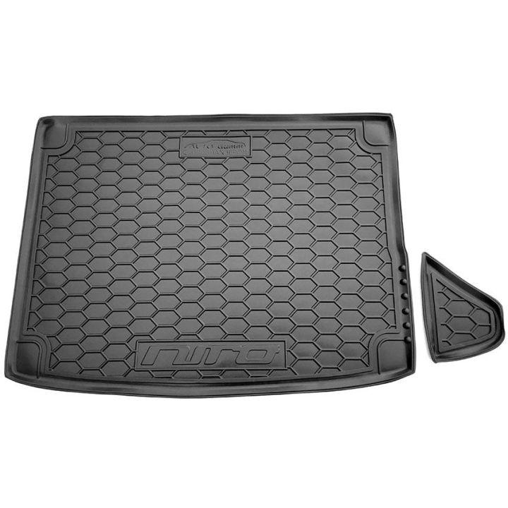Коврик в багажник для Kia Niro '18-, с органайзером, полиуретановый (AVTO-Gumm)