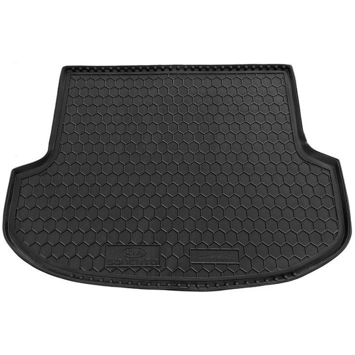 Коврик в багажник для Kia Sorento '10-15 XM (5 мест), полиуретановый (AVTO-Gumm)