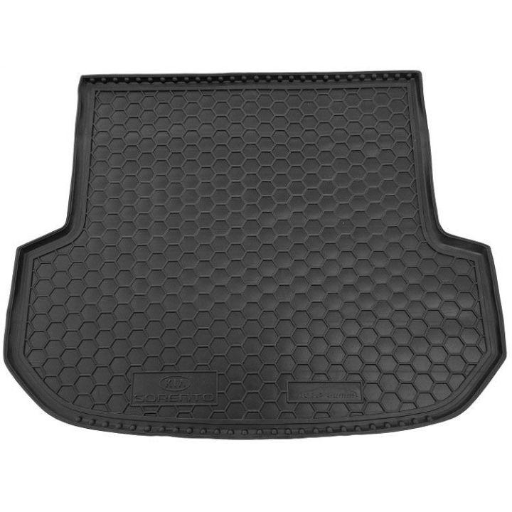 Коврик в багажник для Kia Sorento '15- (5 мест), полиуретановый (AVTO-Gumm)