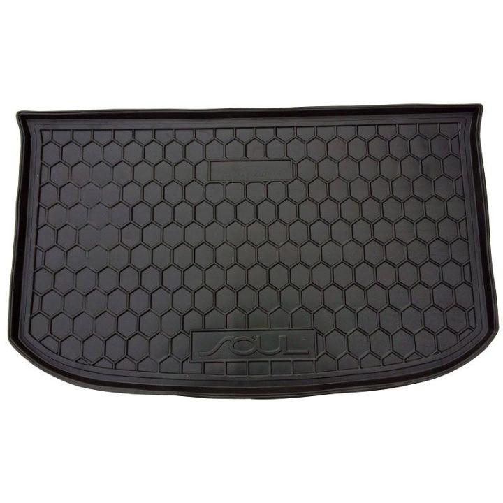 Коврик в багажник для Kia Soul 2014- верхняя полка, полиуретановый (AVTO-Gumm)