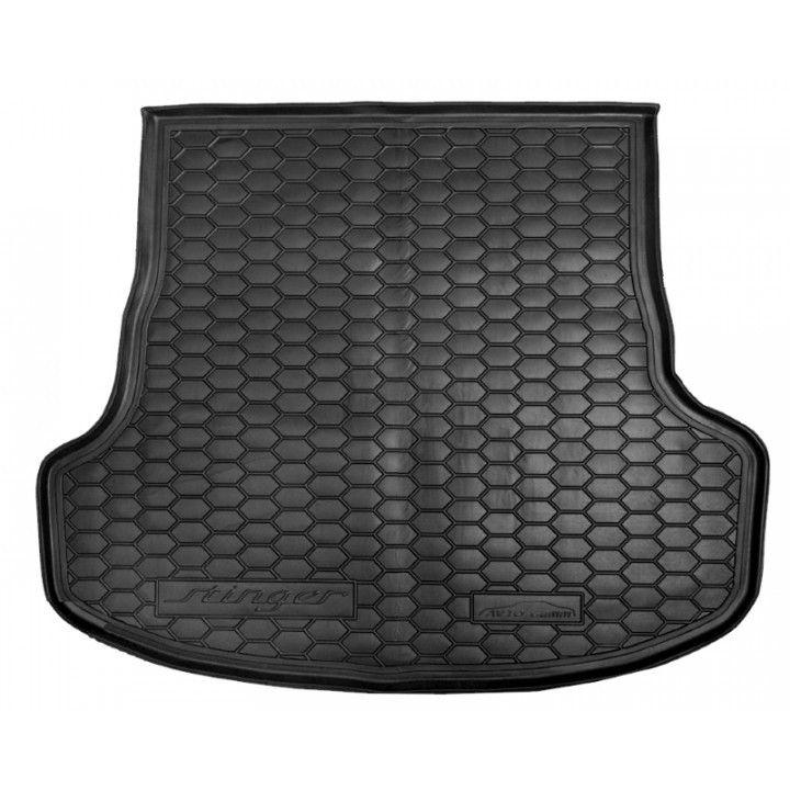 Коврик в багажник для Kia Stinger '17-, полиуретановый (AVTO-Gumm)