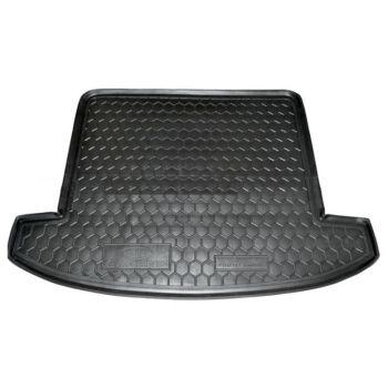 Коврик в багажник для Kia Carens 2013- 7 мест, полиуретановый (AVTO-Gumm)