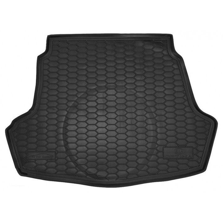 Коврик в багажник для Kia Optima 2016-, полиуретановый (AVTO-Gumm)