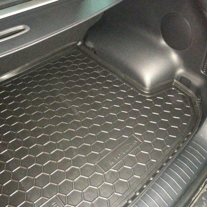 Коврик в багажник для Kia Sportage lV 2016-, полиуретановый (AVTO-Gumm)