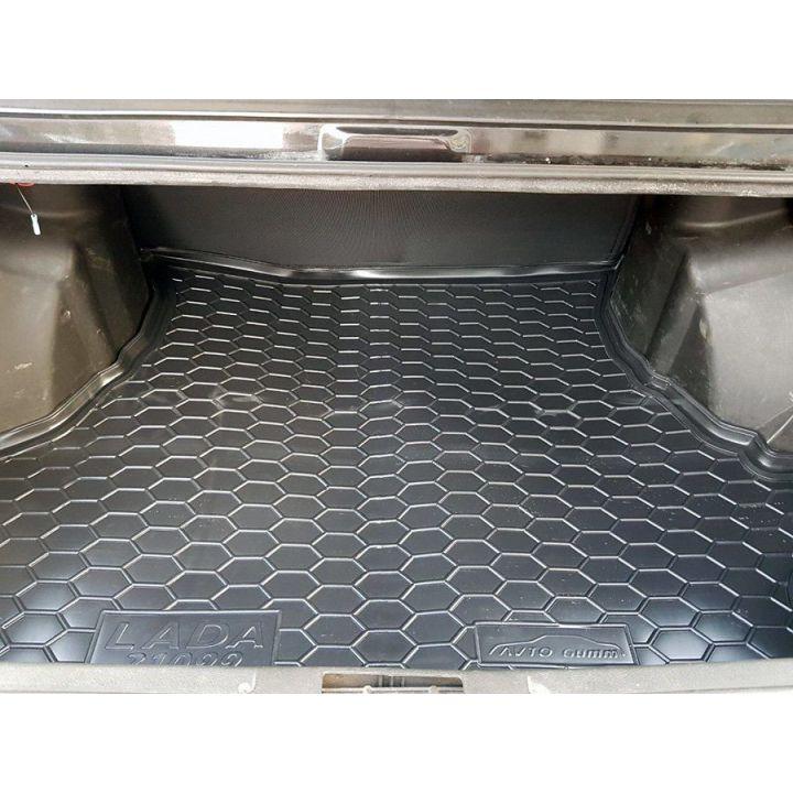 Коврик в багажник для Lada (Ваз) 21099 '90-11, полиуретановый (AVTO-Gumm)