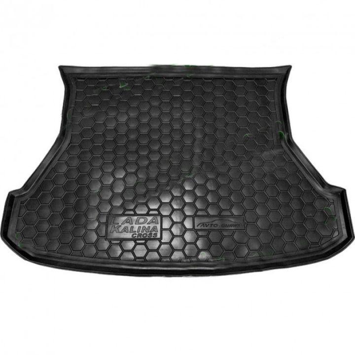 Коврик в багажник для Lada (Ваз) Калина 1117-19 '04-13, полиуретановый (AVTO-Gumm)