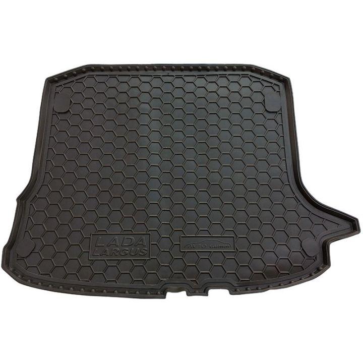 Коврик в багажник для Lada (Ваз) Largus 12- (5 мест), полиуретановый (AVTO-Gumm)