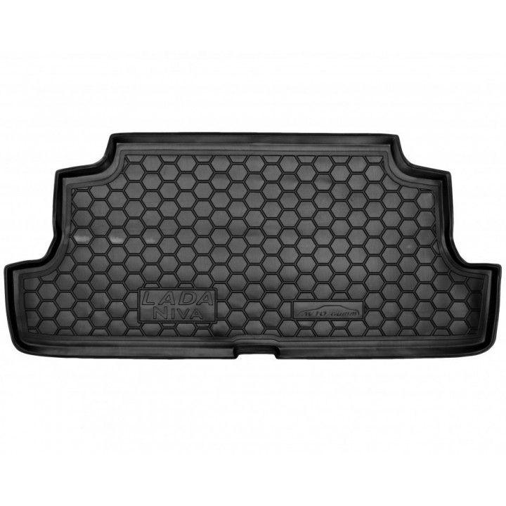 Коврик в багажник для Lada (Ваз) Niva 2131 '01-06 Тайга, полиуретановый (AVTO-Gumm)