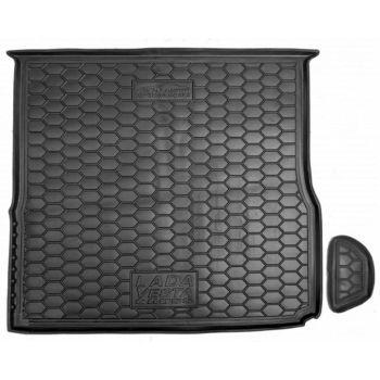 Коврик в багажник для Lada (Ваз) Vesta '15-, Cross, верхняя полка, полиуретановый (AVTO-Gumm)