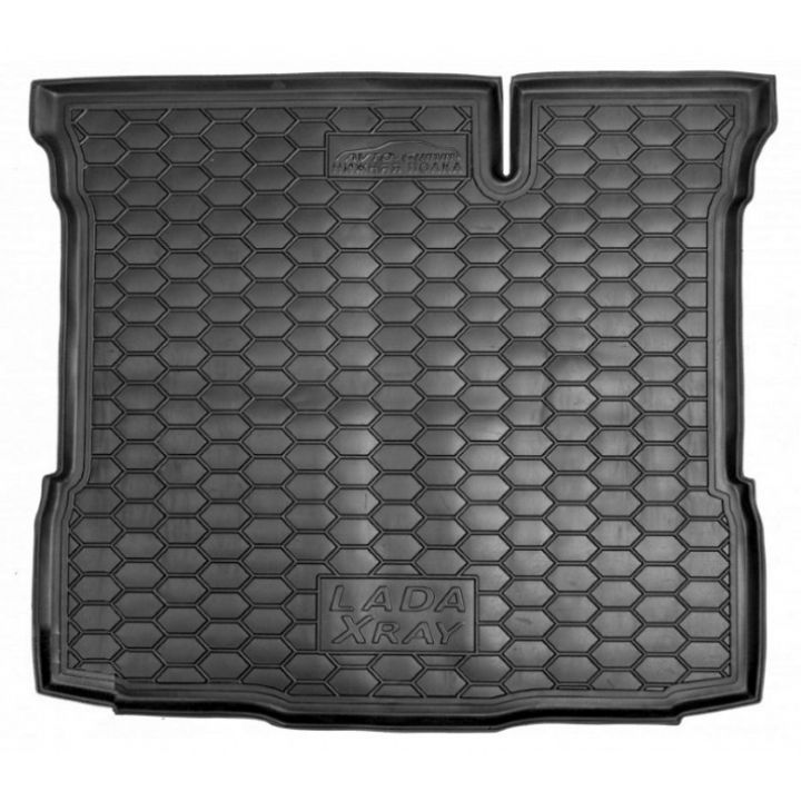 Коврик в багажник для Lada (Ваз) XRAY '15-, нижняя полка, полиуретановый (AVTO-Gumm)