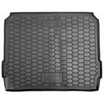Коврик в багажник для Lada (Ваз) XRAY '15-, верхняя полка, полиуретановый (AVTO-Gumm)