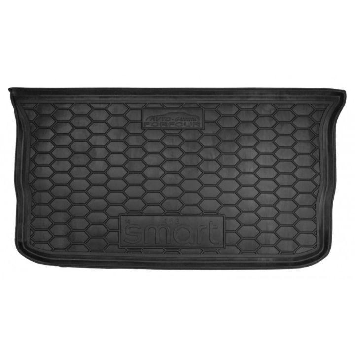 Коврик в багажник для Mercedes Smart Forfour 453 '14-, полиуретановый (AVTO-Gumm)
