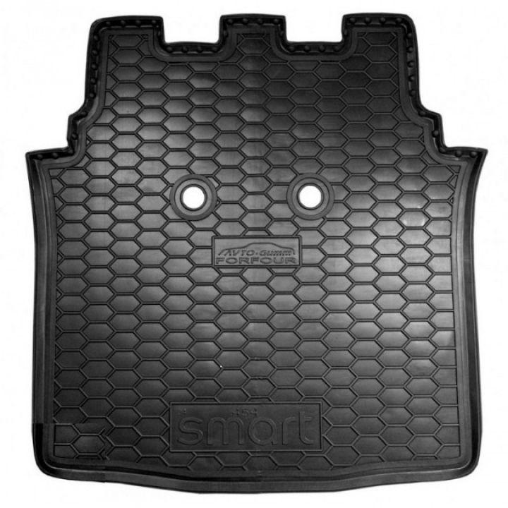 Коврик в багажник для Mercedes Smart Forfour 454 '04-06, полиуретановый (AVTO-Gumm)
