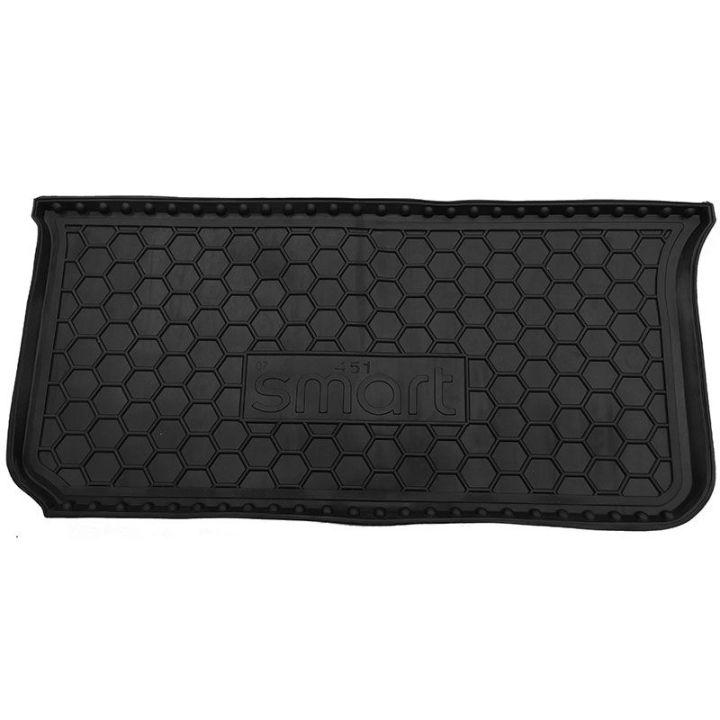 Коврик в багажник для Mercedes Smart Fortwo 451 '08-14, полиуретановый (AVTO-Gumm)