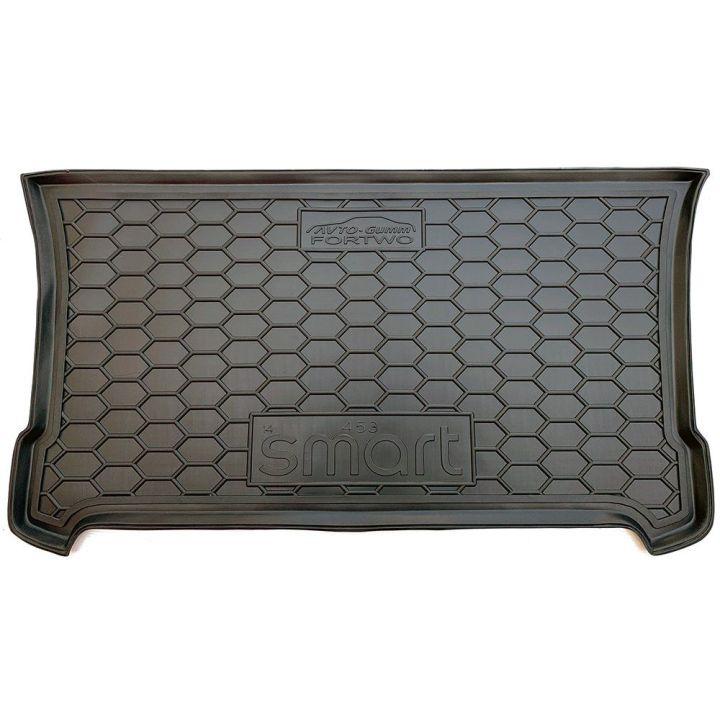 Коврик в багажник для Mercedes Smart 453 Fortwo '14-, полиуретановый (AVTO-Gumm)