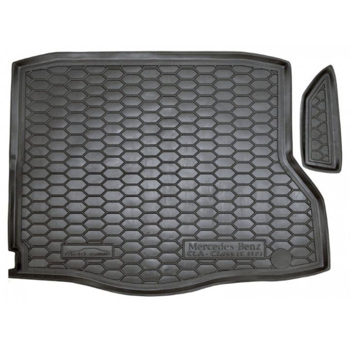 Коврик в багажник для Mercedes CLA-Class '13-, полиуретановый (AVTO-Gumm)