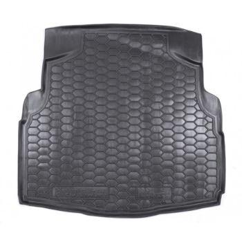 Коврик в багажник для Mercedes C-class W205 '14-, седан без уха, полиуретановый (AVTO-Gumm)