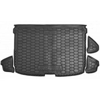 Коврик в багажник для Mitsubishi Eclipse Cross '18-, полиуретановый (AVTO-Gumm)
