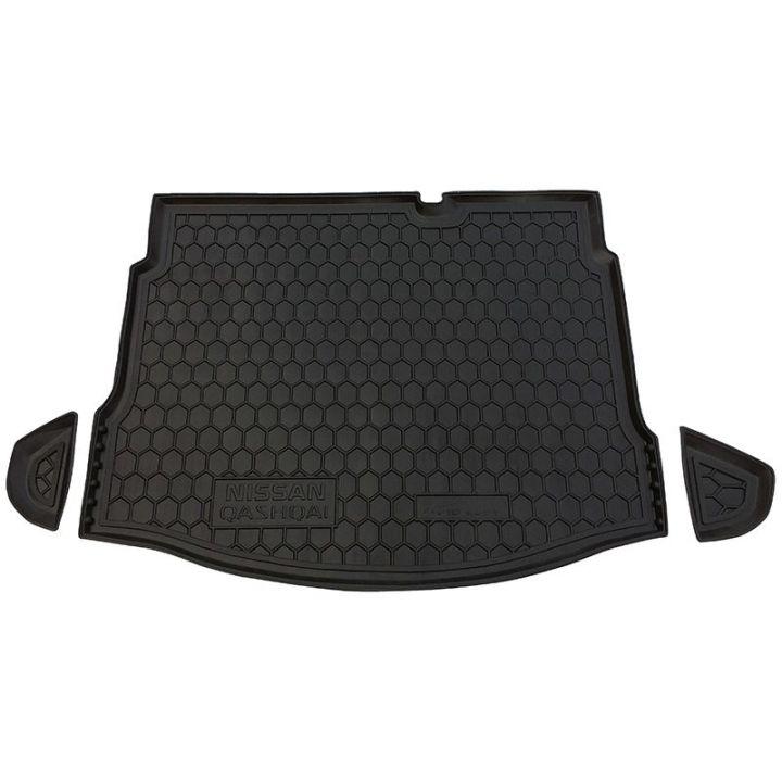 Коврик в багажник для Nissan Qashqai '06-14 с докаткой, полиуретановый (AVTO-Gumm)