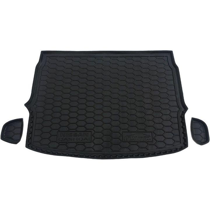 Коврик в багажник для Nissan Qashqai '17- верхняя полка, полиуретановый (AVTO-Gumm)