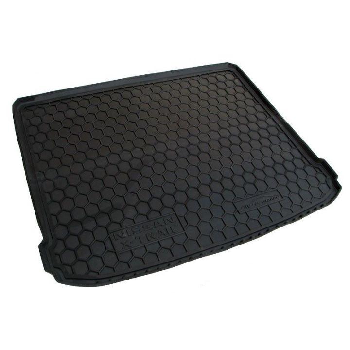Коврик в багажник для Nissan X-Trail T31 '08-15 (без органайзера), полиуретановый (AVTO-Gumm)