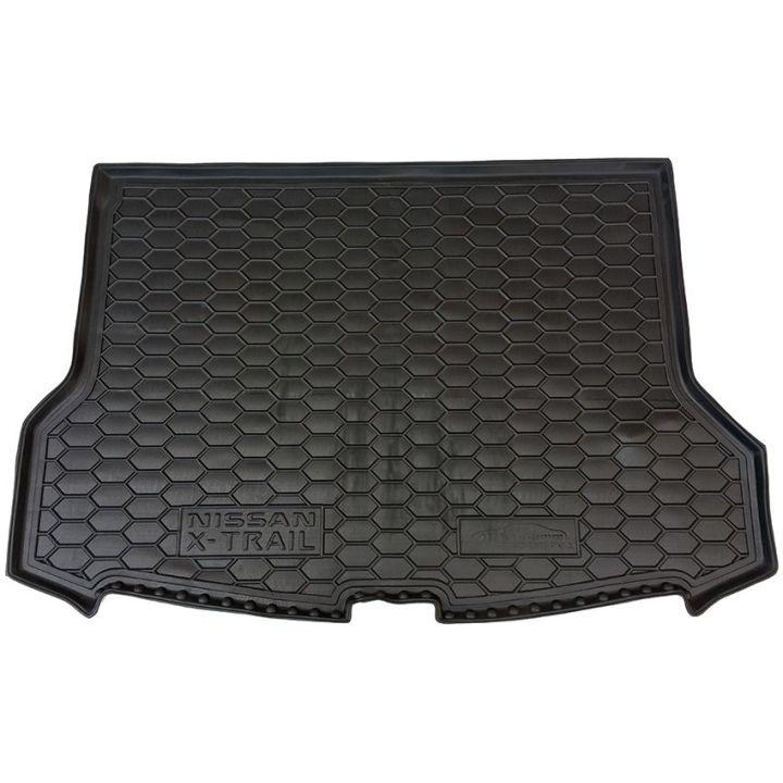 Коврик в багажник для Nissan X-Trail T32 '17- полноразмерная запаска, полиуретановый (AVTO-Gumm)