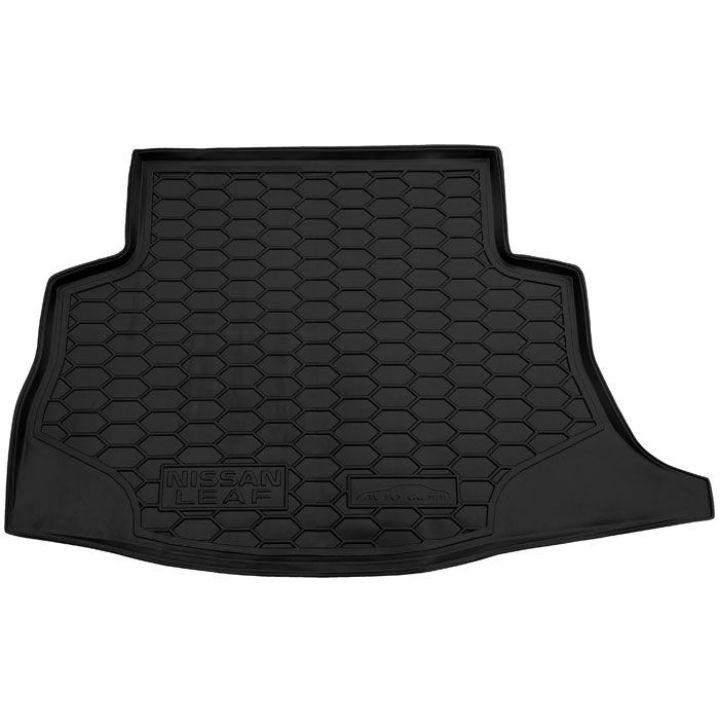 Коврик в багажник для Nissan Leaf '10-17, полиуретановый (AVTO-Gumm)
