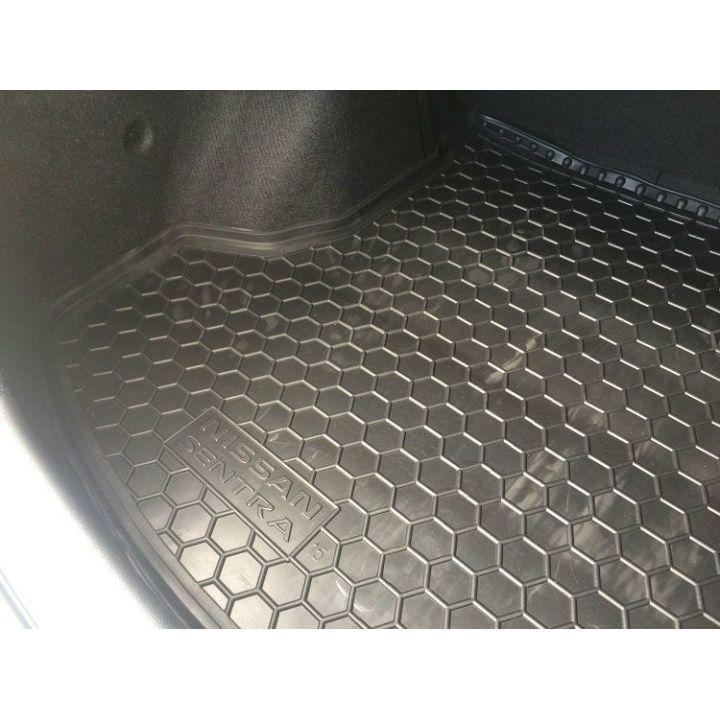 Коврик в багажник для Nissan Sentra '14- седан, полиуретановый (AVTO-Gumm)