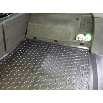 Коврик в багажник для Opel Astra H '04-15 универсал, полиуретановый (AVTO-Gumm)