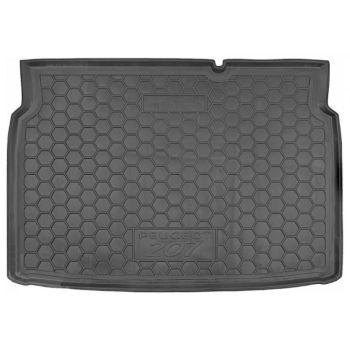 Коврик в багажник для Peugeot 207 '06-12, полиуретановый (AVTO-Gumm)