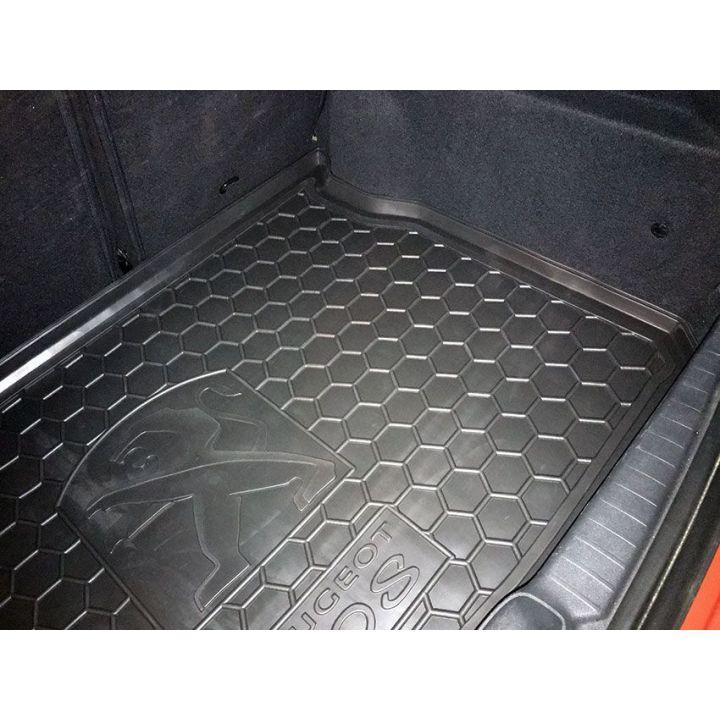 Коврик в багажник для Peugeot 208 '12-, полиуретановый (AVTO-Gumm)