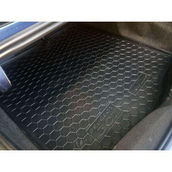 Коврик в багажник для Peugeot 301 '12-, полиуретановый (AVTO-Gumm)