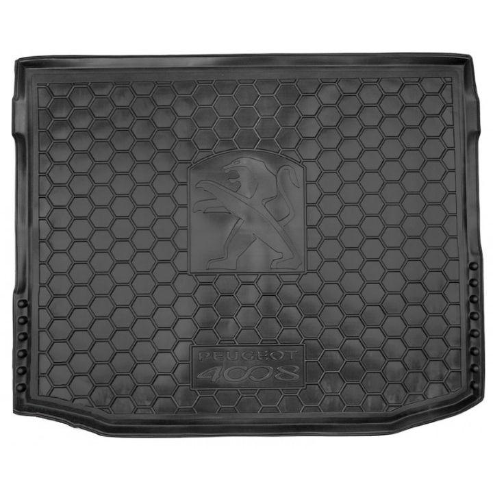 Коврик в багажник для Peugeot 4008 '12-17, полиуретановый (AVTO-Gumm)