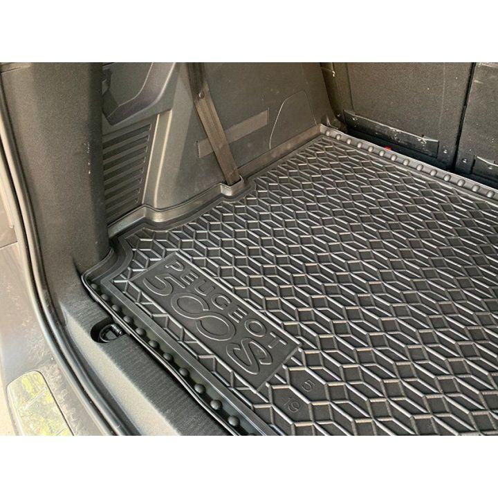 Коврик в багажник для Peugeot 5008 '17- (5 мест), полиуретановый (AVTO-Gumm)