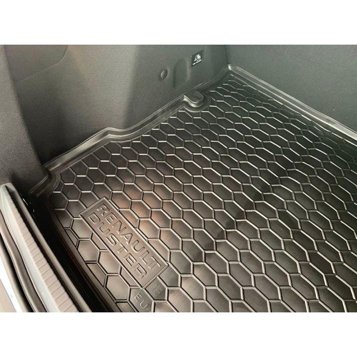 Коврик в багажник для Renault Duster '18- 2WD, полиуретановый (AVTO-Gumm)