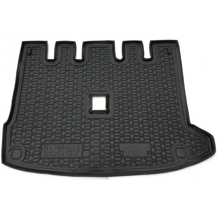 Коврик в багажник для Renault Lodgy '18- раздельная сидушка, полиуретановый (AVTO-Gumm)