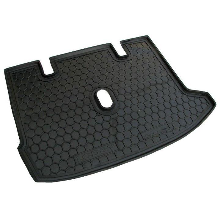Коврик в багажник для Renault Lodgy '12-, полиуретановый (AVTO-Gumm)